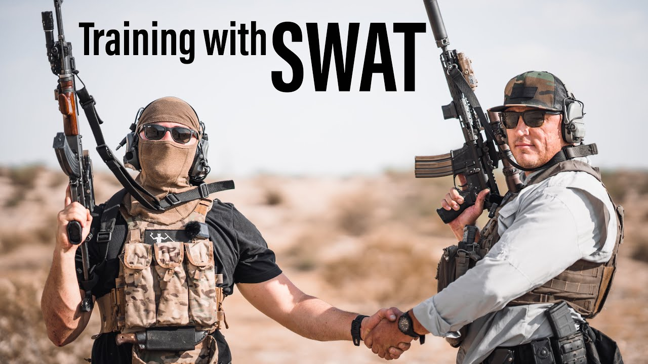 Training With a SWAT Dude: GunFuFighter
