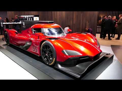 New 2018 Mazda # 55 RT24-P DPi Team Joest Race Car @ 2017 LA Auto Show, Los Angeles CA
