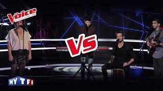 Josef Salvat – Open Season | Arcadian VS Mauranne | The Voice France 2016 | Battle