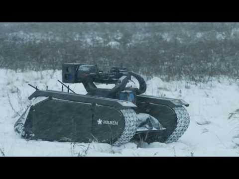 THeMIS Unmanned Ground Vehicle: operational and live firing trials