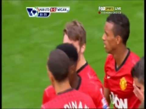 Nick Powell - Amazing Debut Goal for Manchester United