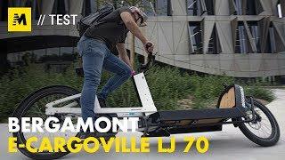 Test. Bergamont E-Cargoville, la rivoluzione delle eBike è cargo [English sub.]