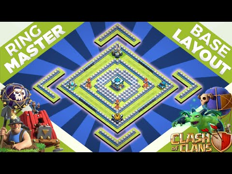 TH13 Legend League Base | Town Hall 13 Base Link | Clash Of Clans