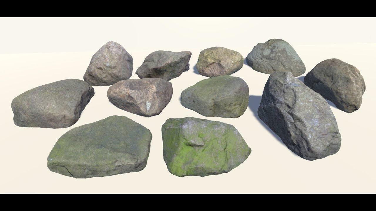 Creating Rocks in Autodesk Maya 2017 using rockGen Script   Maya Modelling  Tutorials