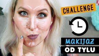 ♦ #Challenge: makijaż od tyłu! ♦ Agnieszka Grzelak Beauty