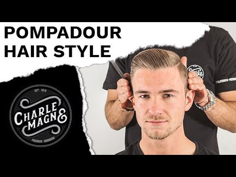 POMPADOUR WITH MATTE POMADE | CLASSIC MEN'S HAIR STYLE | HAIRSTYLE STYLING TUTORIAL FOR MEN