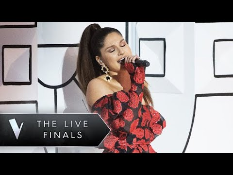 Ariana Grande - No Tears Left To Cry (Bella Paige The Voice Australia 2018 Live Show Week 2)