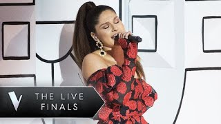 ariana grande no tears left to cry bella paige the voice australia 2018 live show week 2