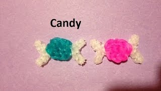 How to Make a Candy Charm on the Rainbow Loom - Original Design