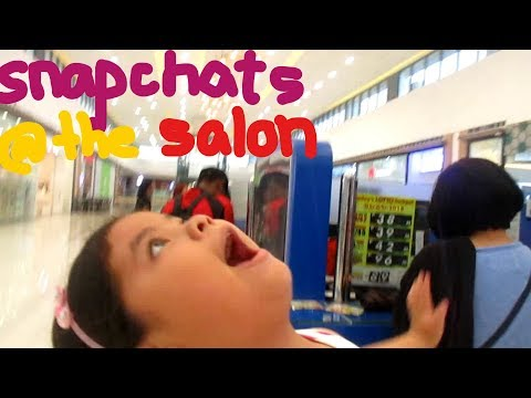 Snapchatting in the Beauty Parlor Vlog #10 / Alysha Corin