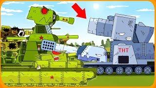 Монстры и Гибрид Мультики про танки