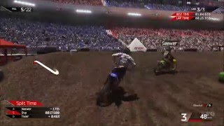 MXGP 2 - The Official Motocross Videogame - Football Arena 1 Track Gameplay (PC HD) [1080p60FPS]