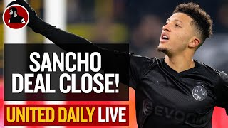 United Will Pay €120m For Sancho! | Man Utd Latest News