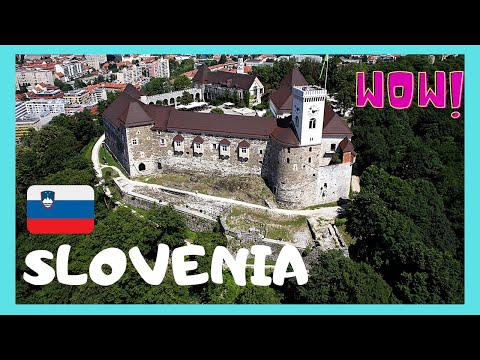 SLOVENIA: the historic and medieval fortress of LJUBLJANA
