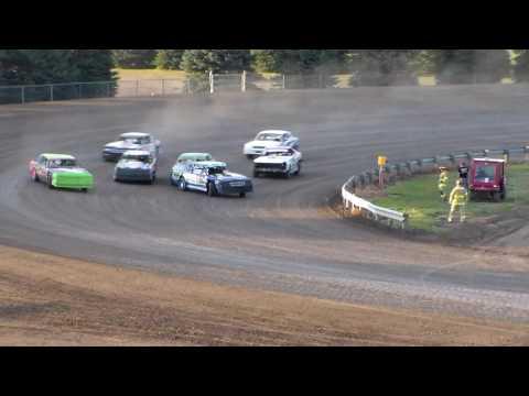 Dacotah Speedway Wissota Street Stock Heats (8/26/16)