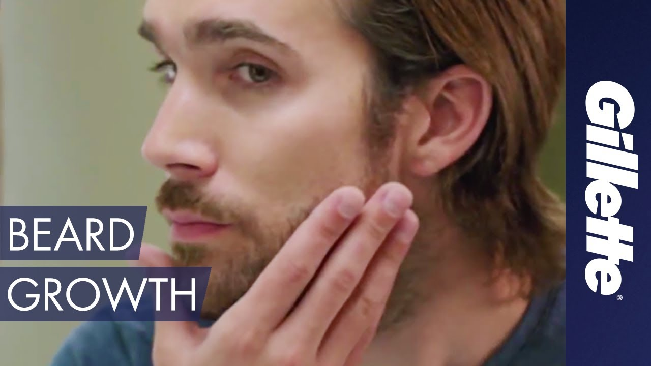 Hair Facts: Facial Hair Follicle Anatomy | Gillette - YouTube