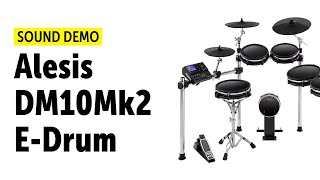Alesis DM10Mk2 E-Drum Sound Demo 8 (no talking)