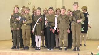 Фестиваль солдатской песни. 4б. Солдат молоденький.