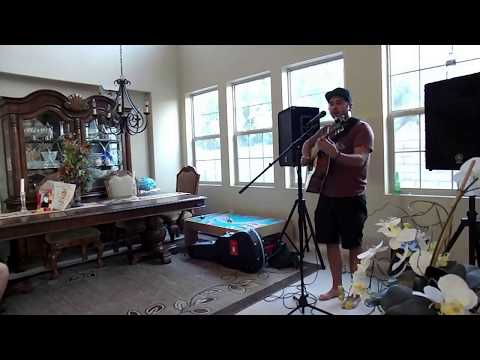 Mike Pinto - Tricky Nicky (acoustic) Live Private Concert