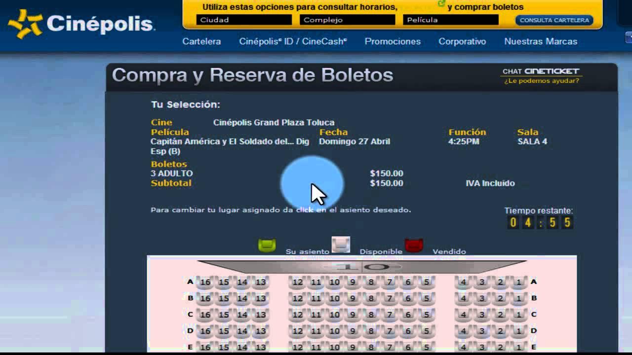 Compra de boletos del cine online youtube for Compra de vajillas online