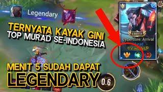 Ternyata Gini Rasanya Top 1 Murad Server Indonesia - Arena Of Valor