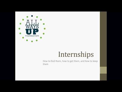 AWU Internship Webinar