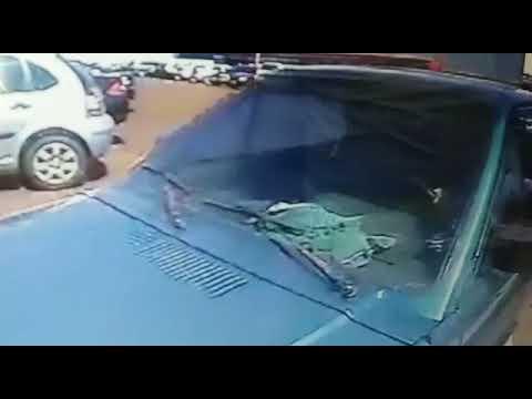 Matelândia: Polícia Civil procura por autor de furto de veículo em estacionamento