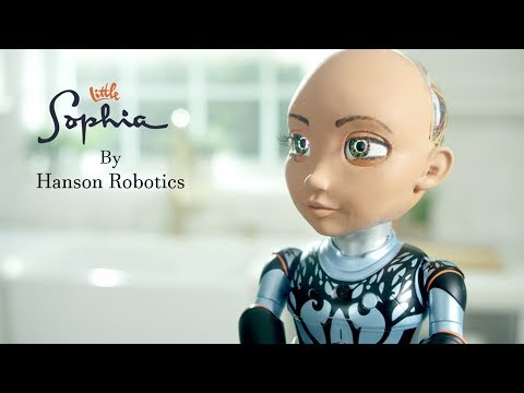 Little Sophia – Little Sister Of Sophia The Robot By Hanson Robotics – Ai & Coding Robot.