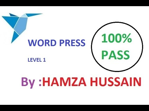 Freelancer.com WordPress Level 1 Exam 2017 | WordPress Level 1 Skills Test with Answers 2017
