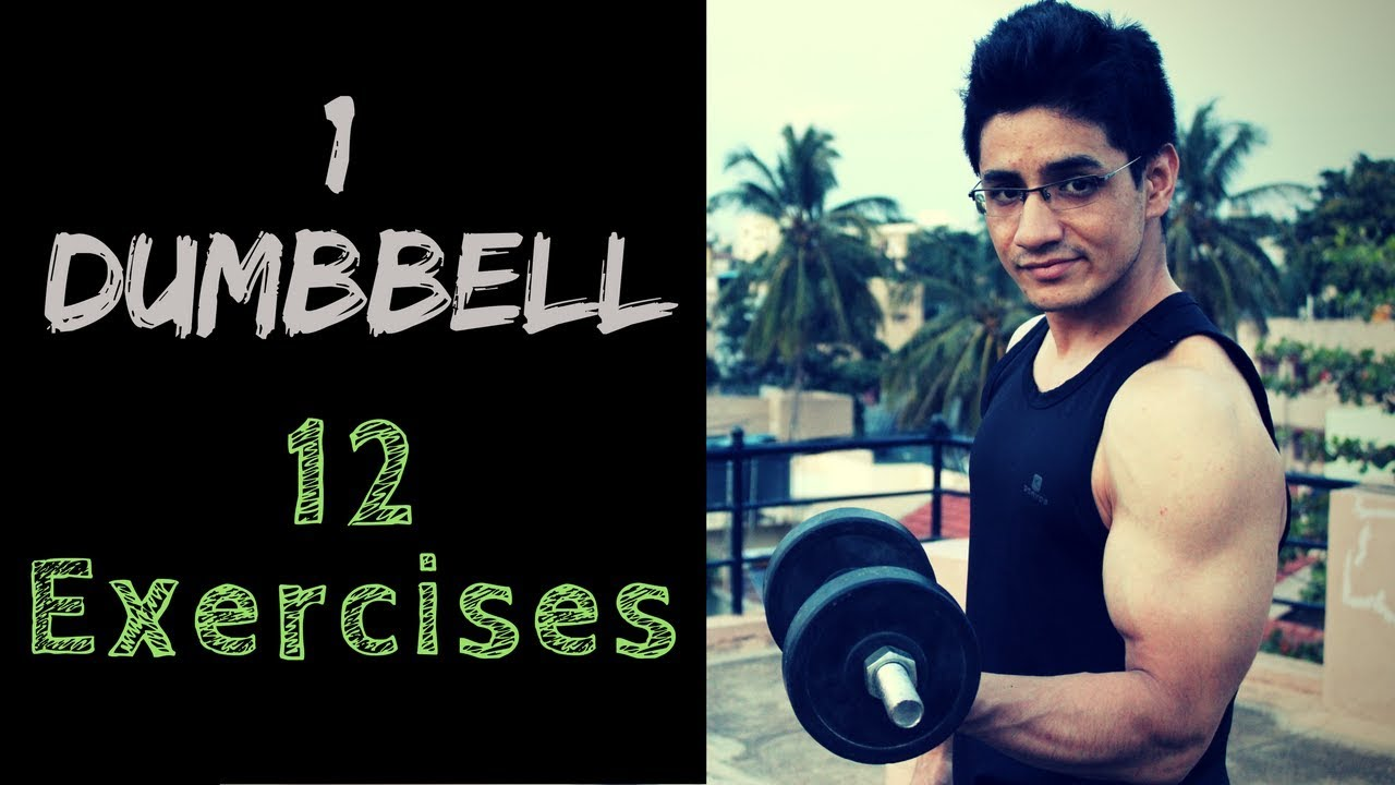 Exercises with one Dumbbell | Full body workout | Home workout | DP Fitness