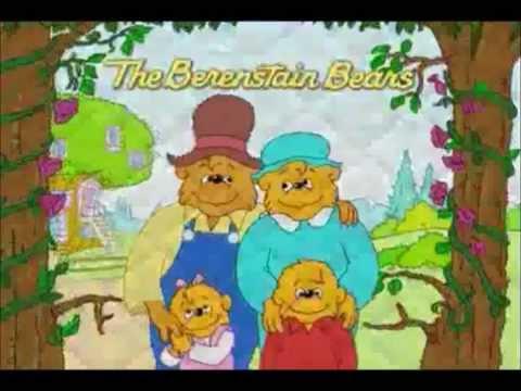 The Berenstain Bear Comparison 1985 VS 2002