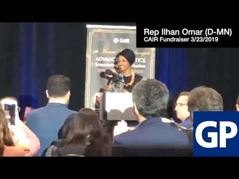 The Pursuit of Happiness - Watch:  Rep. Ilhan Omar Calls on Muslims toRaise Hell at CAIR