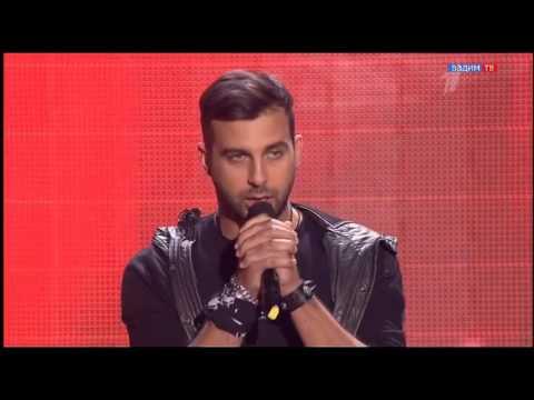 Иван Ургант  пришл и спел на проекте Голос. Судьи удивленны