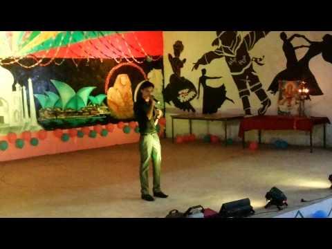 Likhe Jo Khat Tujhe live - Prashant singh @IHM BHOPAL