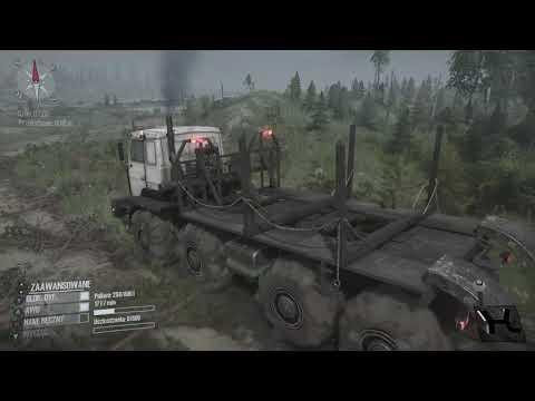 Xbox One . Spintires: MudRunner - The Valley DLC ! E-7429 ! Transport Drewna ! Dolina !