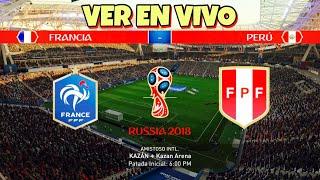FRANCIA VS PERU Fase De Grupo MUNDIAL RUSIA 2018 Ver En Vivo