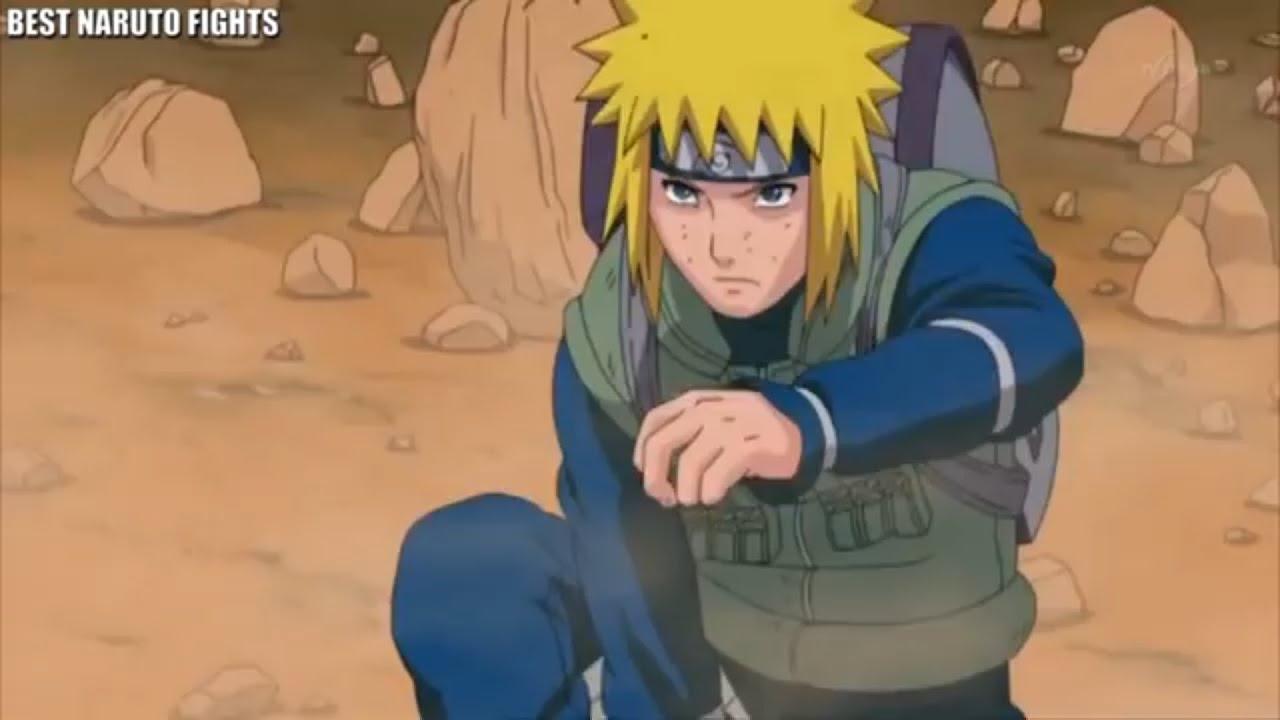 Download Yellow flash- minato vs 1000 rock shinobis in Third great ninja War