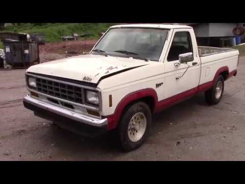 Scrapped! 1988 Ford Ranger XLT
