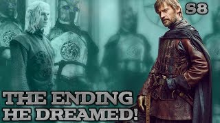 The Crypts of Winterfell | Jaime Lannister's Weirwood Dream | Game of Thrones Season 8 Theory