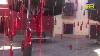 Almería engalana las calles del Centro Histórico por San Valentín