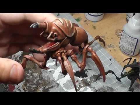 Starship Troopers Miniatures How To Paint A Blister Bug