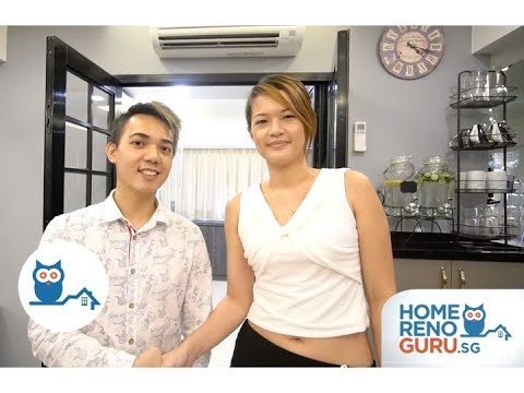 Dream Home of Claire & Yohan - Swiss Interior Design【HomeRenoGuru.sg】