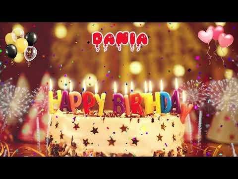 Download DANIA Happy Birthday Song – Happy Birthday Dania أغنية عيد ميلاد فتاة عربية