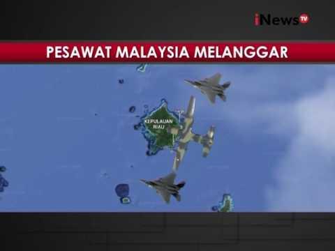 Pesawat Malaysia melanggar batas wilayah, F16 bereaksi mengusir keluar - iNews Malam 27/06