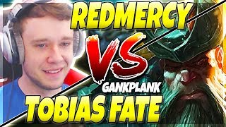 *THE BIG SHOWDOWN* Redmercy vs Tobias Fate (The Pirate KING) - Journey To Challenger | LoL