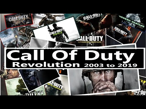Call Of Duty Evolution 2003 To 2019  With Min.system  Requirements