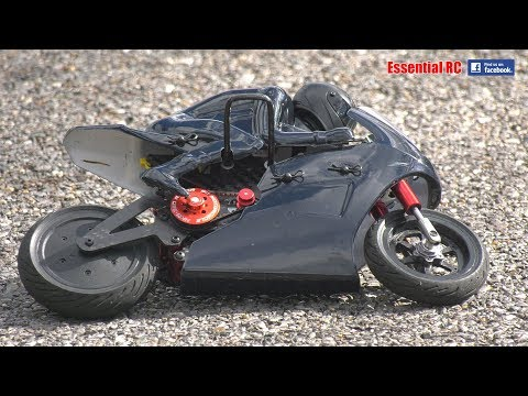 EASY TO DRIVE radio controlled (RC) MOTORCYCLE ! HobbyKing HKM-390 On-Road Racing Motorcycle RTR