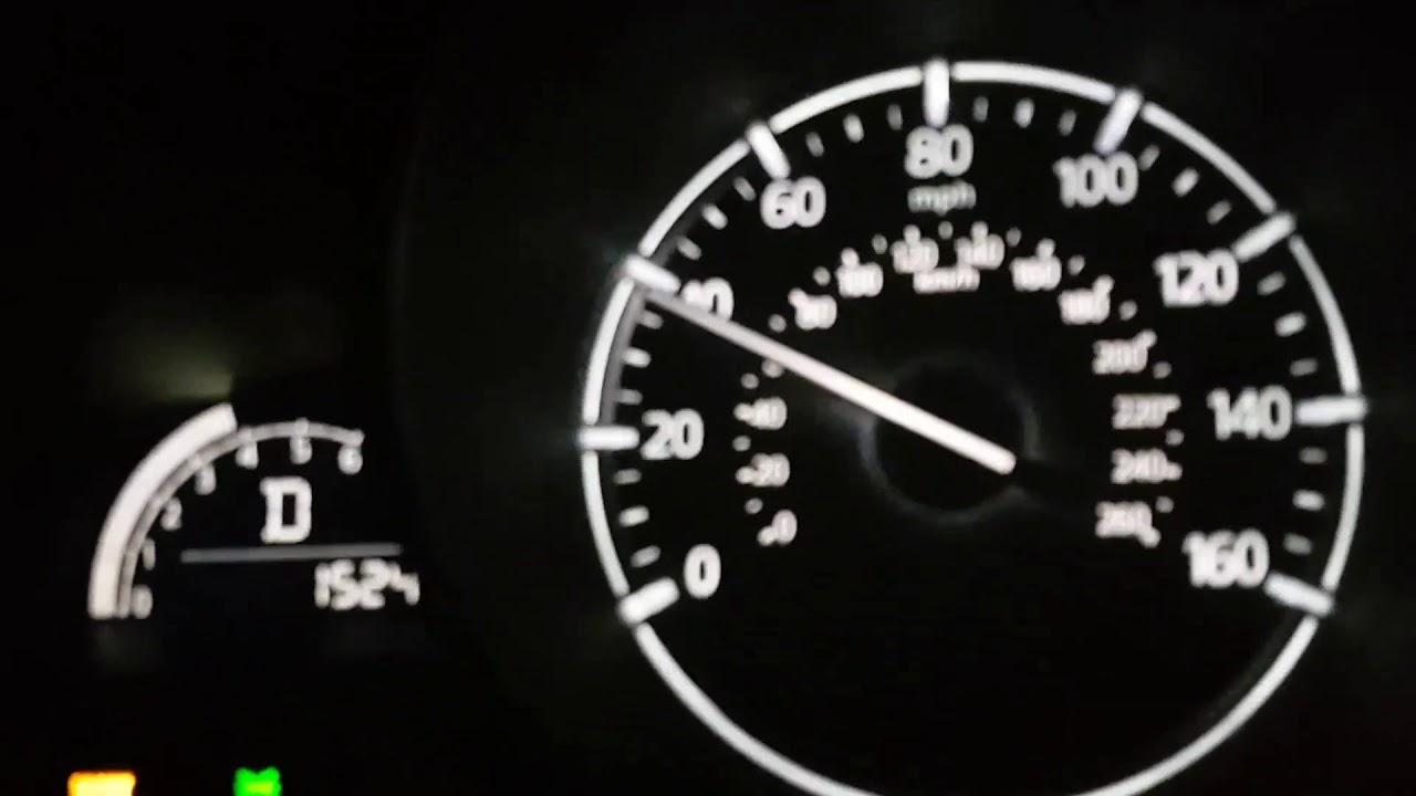 Mazda 3 2017 Skyactiv 2 5 6at 184hp 0 100 60 Mph Youtube