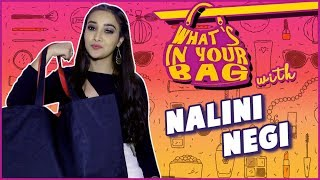 NALINI NEGI aka RIYA Handbag SECRET REVEALED | NAAMKARAN | What's In Your Bag | TellyMasala