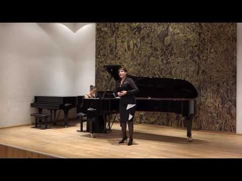 Sarah Laulan, Contralto Schubert Der Tod und das Mädchen